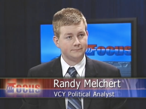 Randy Melchert, political analyst